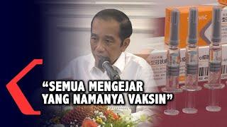 Presiden Jokowi Menyampaikan Hasil Rapat Terbatas Mengenai Vaksin Covid-19