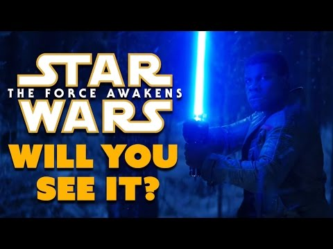 WILL YOU SEE Star Wars: The Force Awakens? - Dude Soup Podcast #38