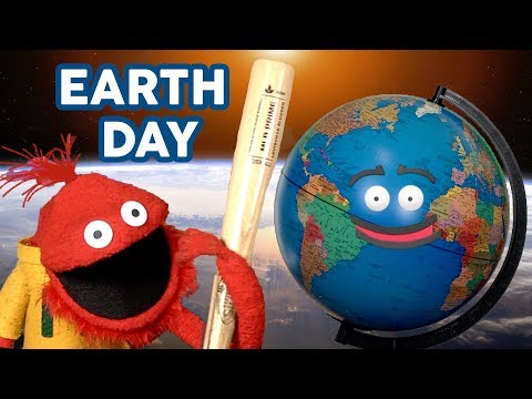 Glove and Boots | Earth Day | Funny videos | Puppets