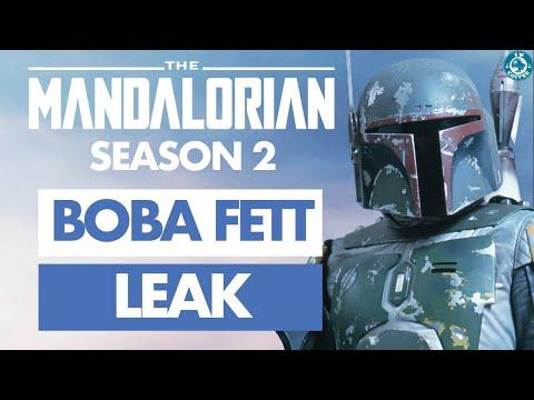 Boba Fett Leak For The Mandalorian Season 2 Youtube