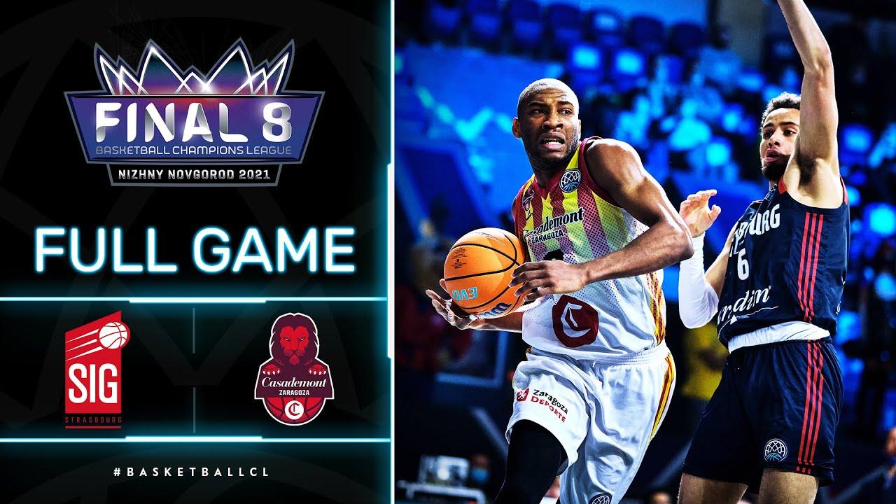 SIG Strasbourg v Casademont Zaragoza - Full Game | Basketball Champions League 2020/21