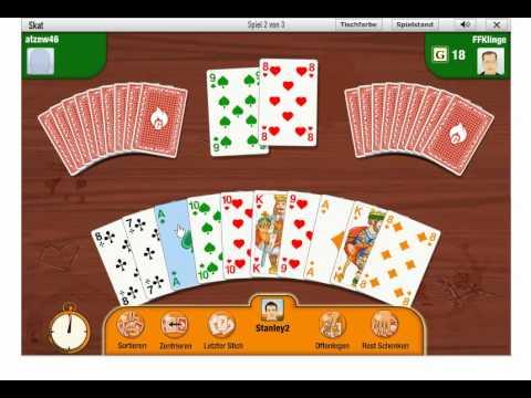 Skat online spielen (Gameduell)