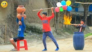 New Top Funny Comedy Video 2020__Very Funny Stupid Boys__Episode-99--I