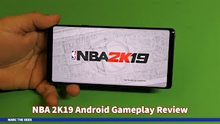 NBA 2K19 Android Gameplay Review