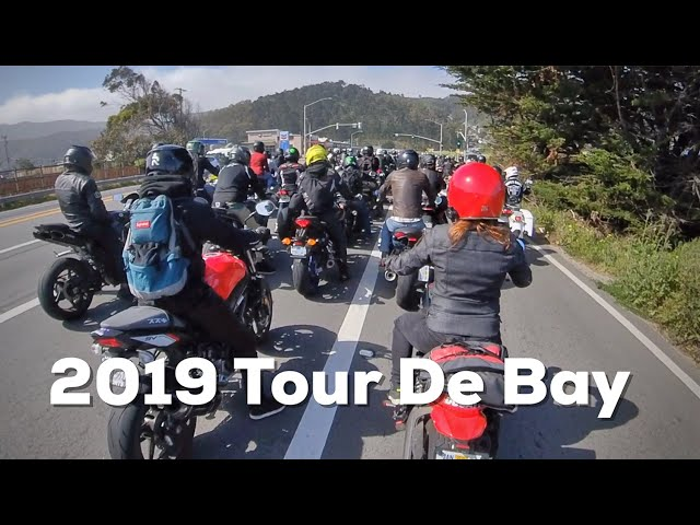 2019 Tour De Bay - Motorcycle Group Ride - Melinda and Wayne Ducati Scrambler Recap