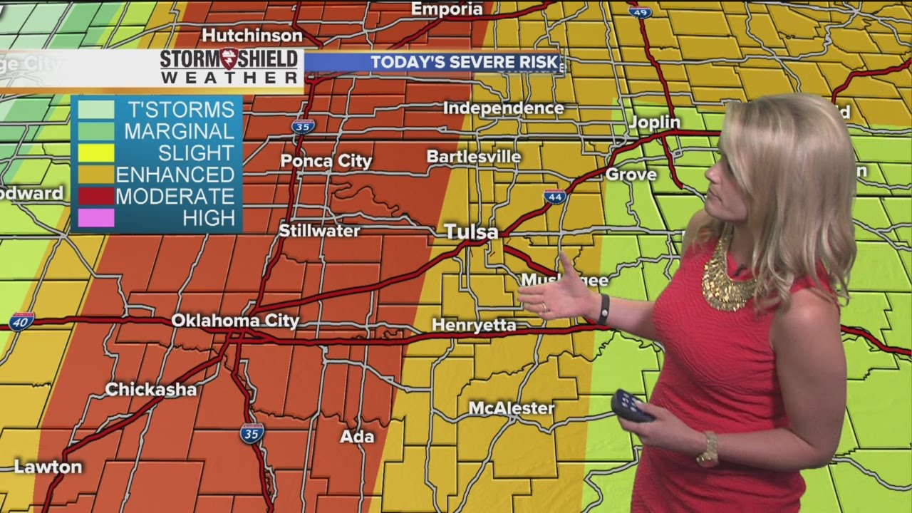 Severe weather forecast for Tuesday, April 26   YouTube