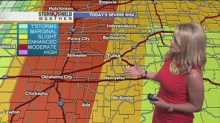 Severe weather forecast for Tuesday, April 26