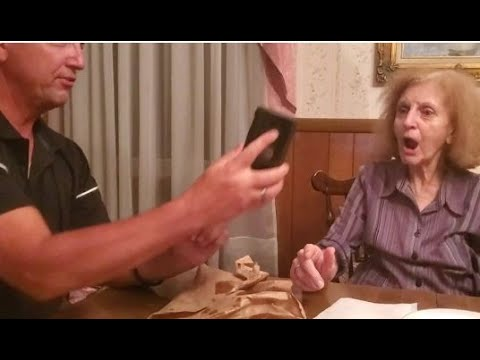 Hilarious FaceApp Aging Video With My 85 Year Old Mom