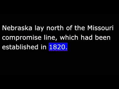 American History - Part 077 - Pierce - Kansas-Nebraska Bill - Railroads