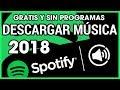 Descargar Musica de Spotify Gratis [Sin Programas] [2018]