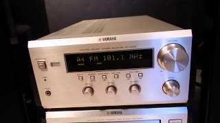 Demo - Yamaha RX-E400 Receiver/CDC-E500 Player & NX-E400 Speakers