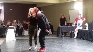 Dance Team #3 Jon Fernandez & Rebecca Briesmaster #tslice🍕 #dancingwiththelocalstars