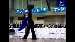 金光進陪 吉田奈津子組 チャチャチャ 2010年度 ツバメ杯デモ.