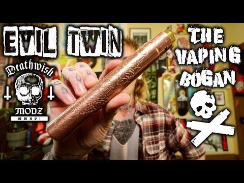 Evil Twin Stacked Tube | Death Wish Modz | The Vaping Bogan