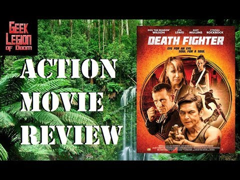 DEATH FIGHTER ( 2017 Don 'The Dragon' Wilson ) aka WHITE TIGER Action Movie Review