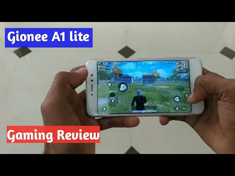 gionee a1 lite gaming review in hindi,pubg Mobile...
