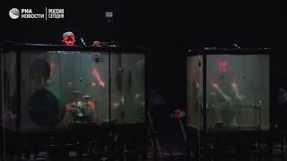 Игра на подводных инструментах