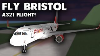FlyBristol A321 Flight! | Roblox
