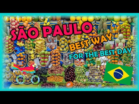 SÃO PAULO Brazil Travel Guide. Free Self-Guided Tours (Highlights, Attractions, Events)