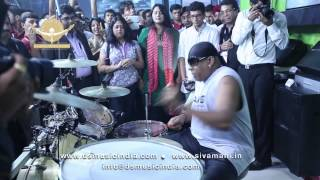 Sivamani Jamming in Palm Expo 2013 - DS MUSIC