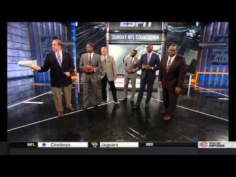 SNICKERS Satisfies The ESPN Sunday NFL Countdown Crew