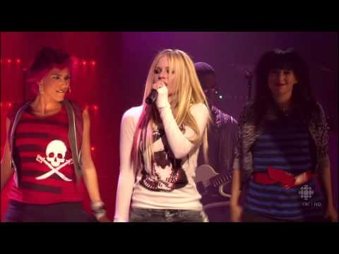 [LIVE/HD] Avril Lavigne - The Best Damn Thing @ Calgary Alberta [CBC Exclusive]
