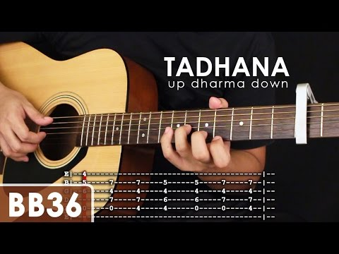 Guitar guitar chords of tadhana : Tadhana - Up Dharma Down Guitar Tutorial (Part 1) - YouTube