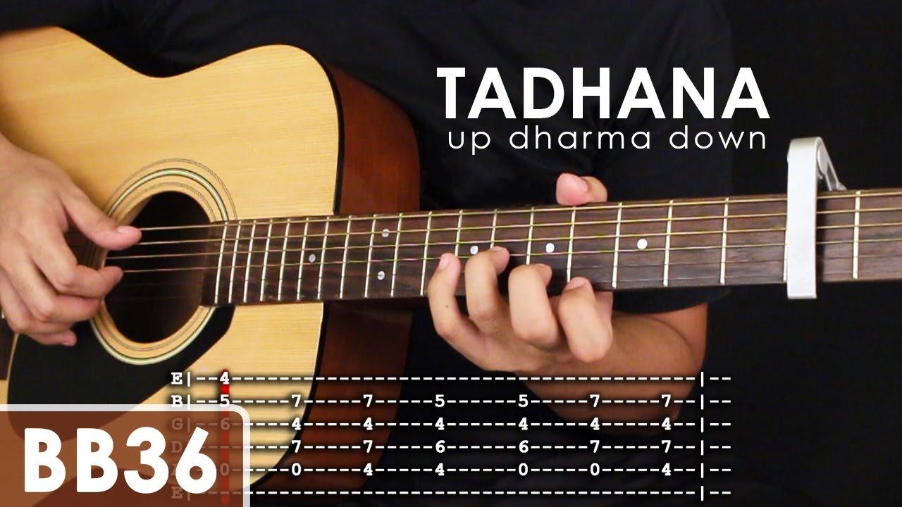 Tadhana Up Dharma Down Guitar Tutorial Part 1 Youtube