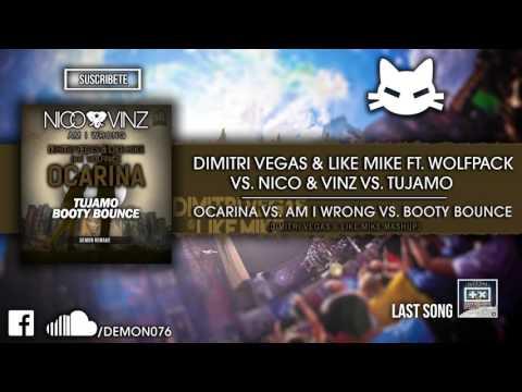 Ocarina vs. Am I Wrong vs. Booty Bounce (Dimitri Vegas & Like Mike Mashup)  (Tomorrowland 2015)