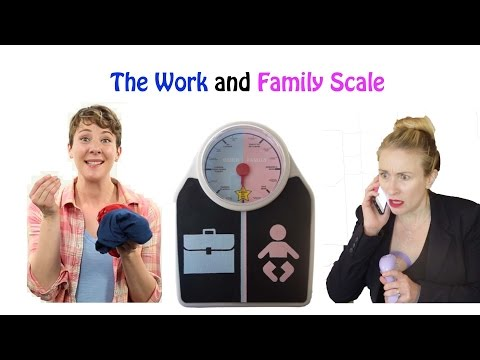 The Work and Family Scale (*NEW* Product for Working Moms!)