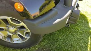 Installation AEV style front bumper back bumper and tire carrier jeep wrangler