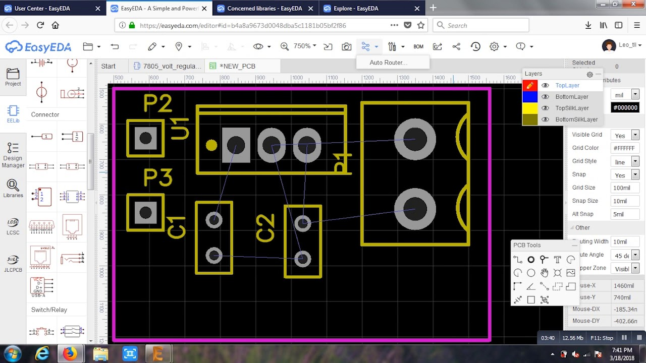 EasyEDA : Free online Schematic & PCB Design Software (10x easier ...