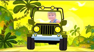 Wild Animals - Nursery Rhymes funny songs for kids by Olivia Vlog