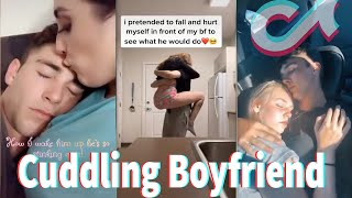 Cuddling Boyfriend TikTok Part 1 July