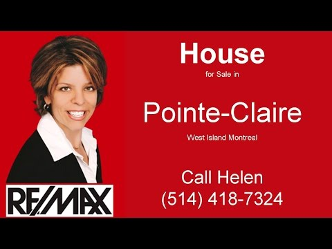 House for Sale Pointe Claire West Island Montreal - Cottage for Sale Pointe-Claire
