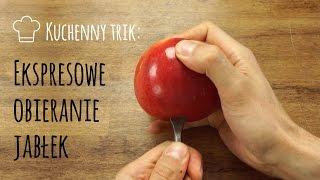 Kuchenny trik: Ekspresowe Obieranie Jabłek