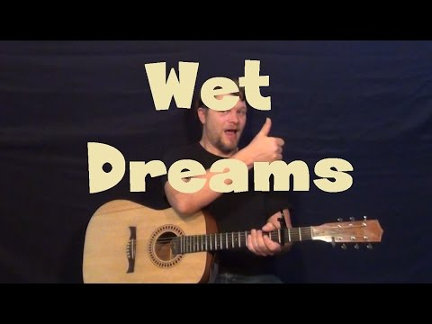 Wet Dreams (J. Cole) Guitar Lesson How to Play Tutorial