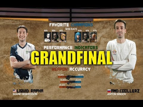 GRANDFINAL RAPHA VS COOLLER PGL 2018 50.000$ Tournament Quake Champions