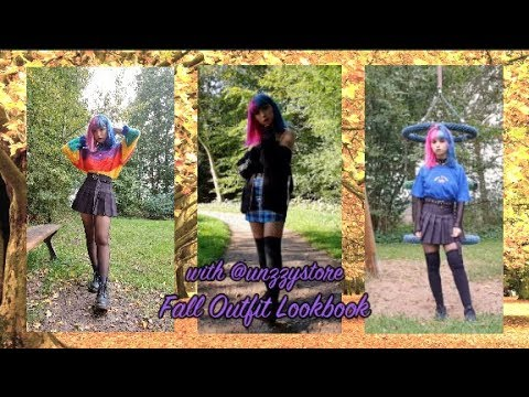 [VIDEO] - ? Fall Outfit Lookbook (with unzzystore) ? 8