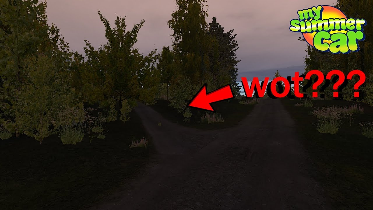 My Summer Car New Path Haunted House Coming Soon Youtube