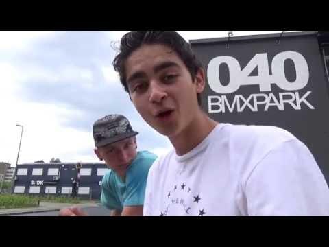 Dagje 040 BMX PARK met Robin! (Vlog, Fun, FRONTFLIP IN!)
