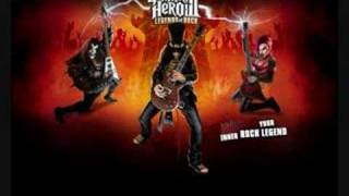Guitar Hero 3 song Kiss - Rock and Roll All Nite