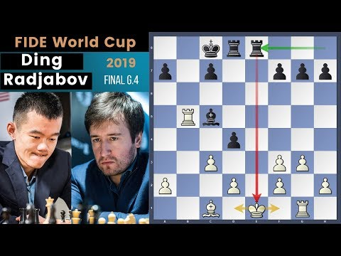 Would You Attack A White Dragon? - Ding vs Radjabov | Fide World Cup 2019