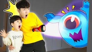 신비아파트 귀신 후레쉬를 비추면 유령이 나온다!! Ghosts Lantern Flashlight Kids Haunted Ghost - 마슈토이 Mashu ToysReview