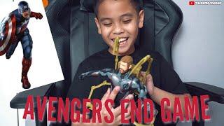 UNBOXING MAINAN: KARAKTER AVENGERS END GAME!!