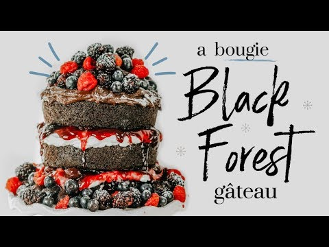 BLACK FOREST GÂTEAU ∙| baking with meghan |∙ BAKEMAS DAY 6