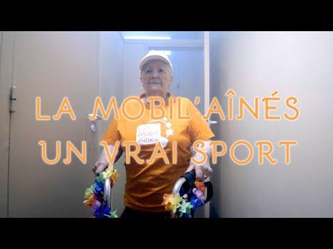 La Mobil'Aînés : un vrai sport !!