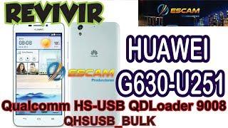 REVIVIR HUAWEI Y625 -U13 VIA USB SOLUCION CUANDO YA INTENTASTE TODO