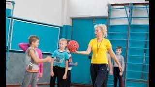 Урок фізкультури у 2 класі. Шпак І.М.