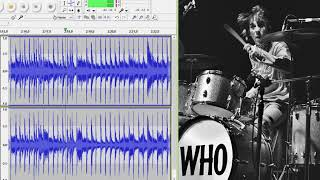 The Who - Going Mobile - drums only. Isolated drum track.